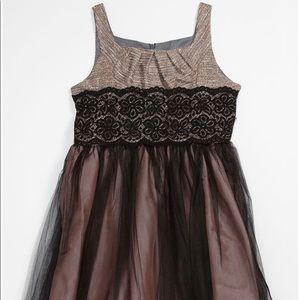 Iris & Ivy tweed tulle dress Size.10 Nordstrom